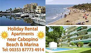 Cabopino holiday rental apartments